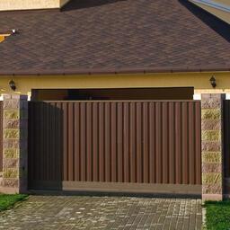 Откатные ворота Alutech: качество и безопасность